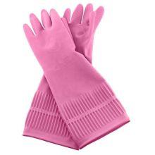 """Перчатки латексные """"Latex Glove"""" 1 пара (большой размер L)"""