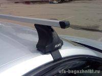 Багажник на крышу Opel Insignia, Атлант, прямоугольные дуги, опора Е
