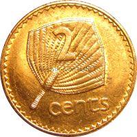 Фиджи 2 цента 1978 г.