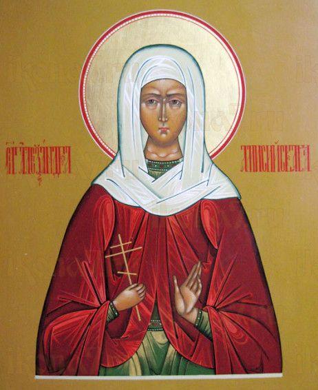 Икона Александра Понтийская (рукописная)