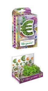 """Живая открытка """" Евро-зелень"""""""