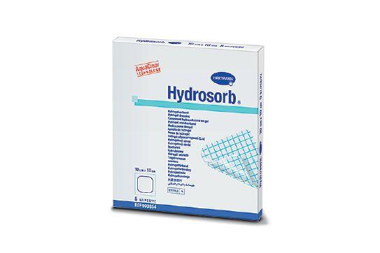 Гидросорб Комфорт ( HYDROSORB comfort) - гидрогелевые самоклеящиеся повязки: 7,5 х 10,0 см,