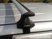 Багажник на крышу Renault Megane 3 hatchback, Атлант, крыловидные аэродуги