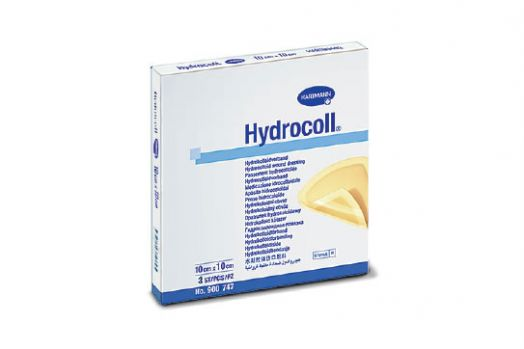 Гидроколл ( HYDROCOLL) - гидроколлоидные повязки: 10 х 10 см;