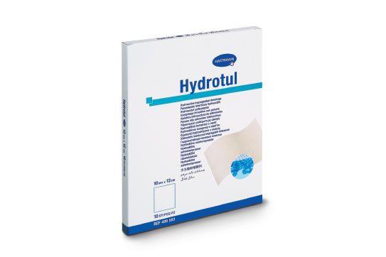 Гидротюль ( HYDROTUL) - мазевые повязки гидроактивные (стерильные), 10 х 12см