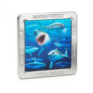 """Пазл с трехмерным изображением """"Акулы"""""""