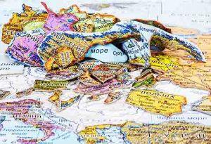 """Географический Пазл """"Карта Европы"""""""