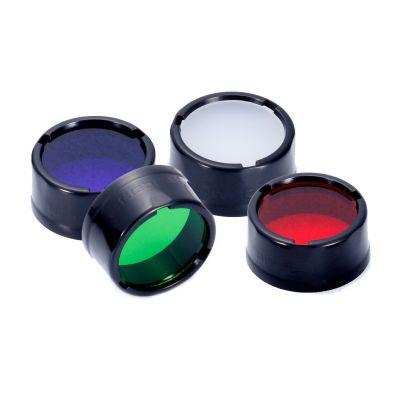 Цветные фильтры Nitecore Ø25мм (4 цвета)