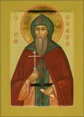 Икона Герман Валаамский (рукописная)