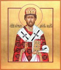 Герман Казанский (рукописная икона)