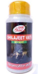 Шиладжит вати (Shilajeet vati), 300 таблеток - 100 грамм