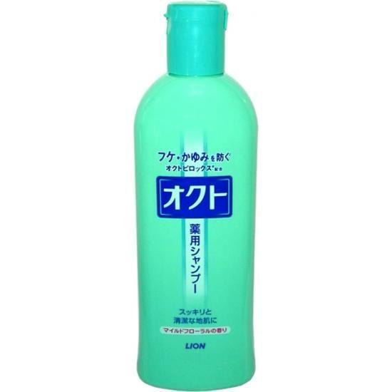 Шампунь Сила волос против перхоти и зуда головы с цветочным ароматом Oct Lion 320мл