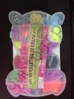 """Набор для плетения Rainbow Loom Bands """"Мишка"""" большой 12000шт резинок , большой крючок,  клипсы ,большой станок для плетения ,"""