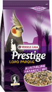 Versele-Laga Prestige PREMIUM Australian Parakeet Loro Parque Mix Корм для средних попугаев (1 кг)