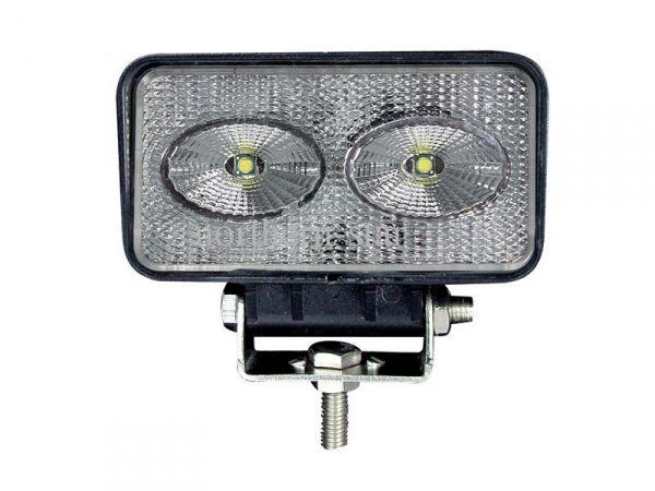 Прямоугольная cветодиодная LED фара рабочего света 20W (ПТФ)