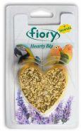 FIORY био-камень для птиц Hearty Big с лавандой в форме сердца (100 г)