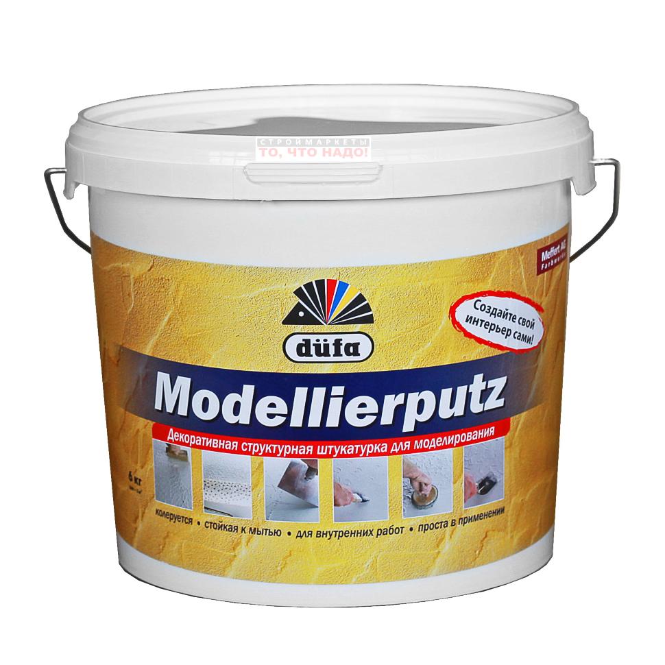 Штукатурка декоративная Dufa Modellierputz 18кг