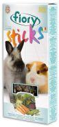 FIORY Sticks Палочки для кроликов и морских свинок с овощами (2х50 г)