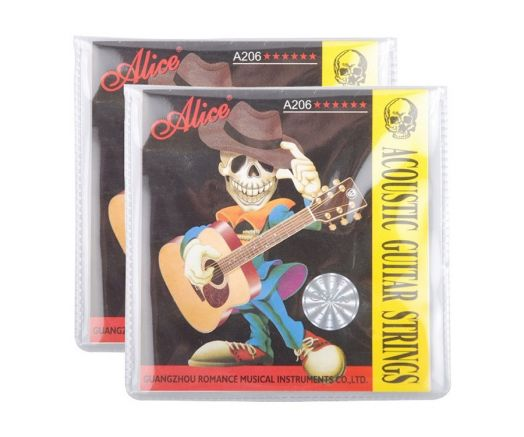ALICE А206-L Light (12-53) Струны для акустической гитары
