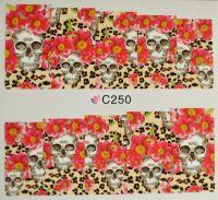Водная наклейка для дизайна ногтей С 250