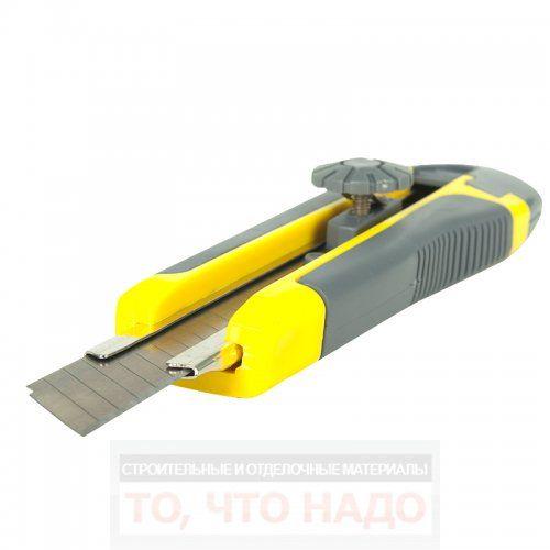 Нож 18мм усиленный лезвие 15 сегментов