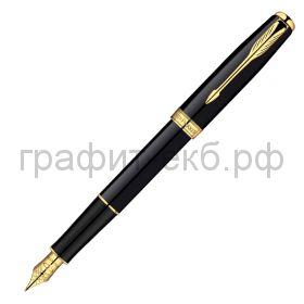 Ручка перьевая Parker Sonnet GT черный лак/позолота S0833860/S0808700/S0703900