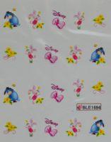 Водная наклейка для дизайна ногтей BLE 1694