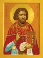 Икона Максим Богданов (рукописная)