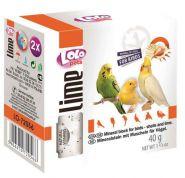 LoLo Pets Минеральный камень для птиц с ракушками (40 г)