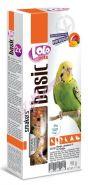 Lolo Pets Smakers Крекеры для волнистых попугаев с манго (90 г)