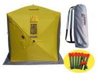 Палатка для зимней рыбалки Helios Куб 1,5х1,5