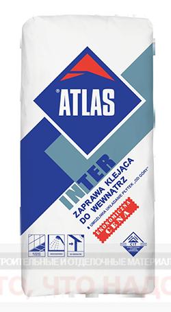 Клей для плитки ATLAS INTER 25кг.