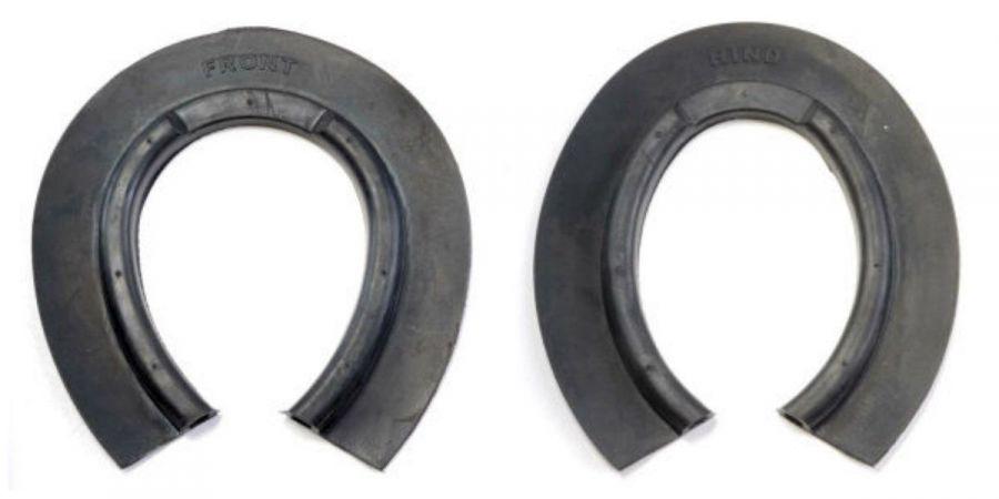 Фильцы противоснежные Mustad. Передние и задние