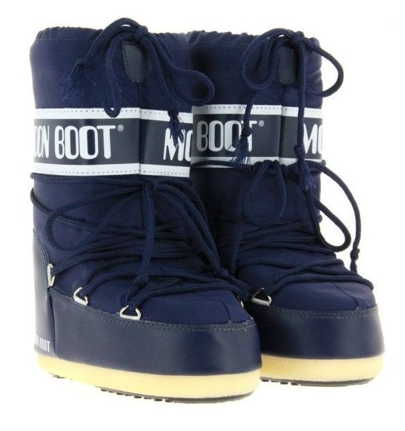 Moon Boot Nylon Blue / 23-26, 31-34.