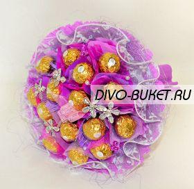 """493 Букет из конфет """"Фокстрот"""""""