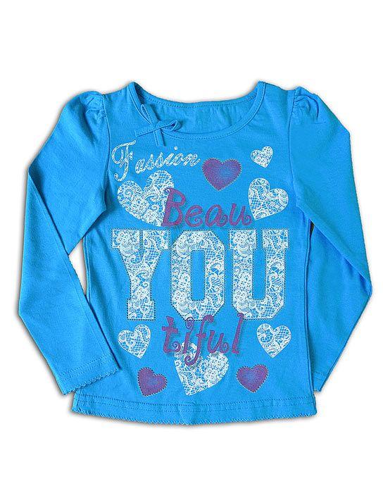 Блуза для девочки Бирюза