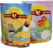Верные друзья Корм для экзотических птиц (500 г)