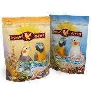 Верные друзья Корм для корелл и других средних попугаев (500 г)