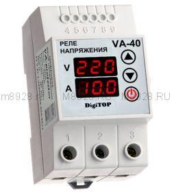 Реле контроля напряжения и индикации тока VA-32