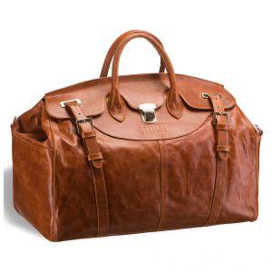Дорожная сумка BRIALDI Concord (Ко?нкорд) antique red