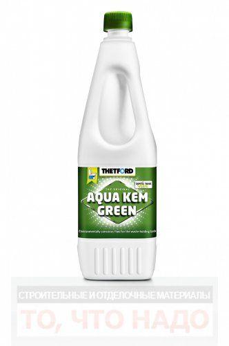 Жидкость для биотуалетов Аква кем Грин 1,5л.
