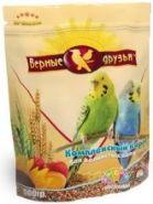 Верные друзья Корм для волнистых попугаев (500 г)