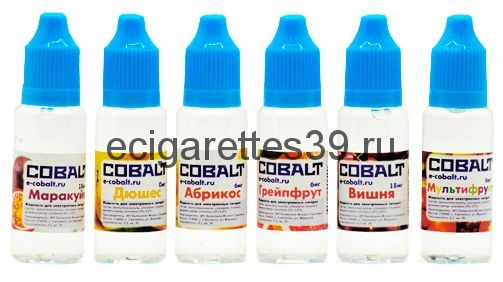 Жидкость Cobalt (содержание никотина 12 мг.)