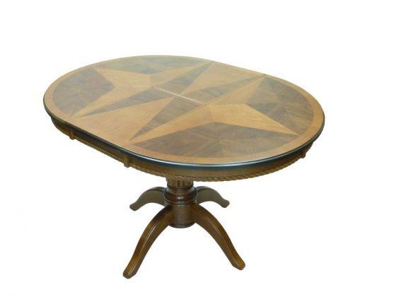 Стол круглый деревянный раскладной 3686М