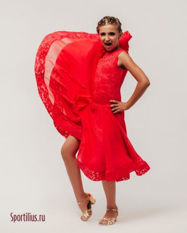 """Платье для бальных танцев """"Валенсия"""""""