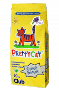 """Pretty Cat """"Супер Белый"""" Комкующийся наполнитель с ароматом горной лаванды (10 кг)"""