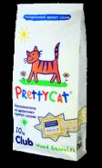 Pretty Cat Wood Granules Древесный впитывающий наполнитель (10 кг)