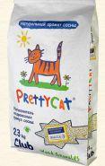 Pretty Cat Wood Granules Древесный впитывающий наполнитель (23 кг)