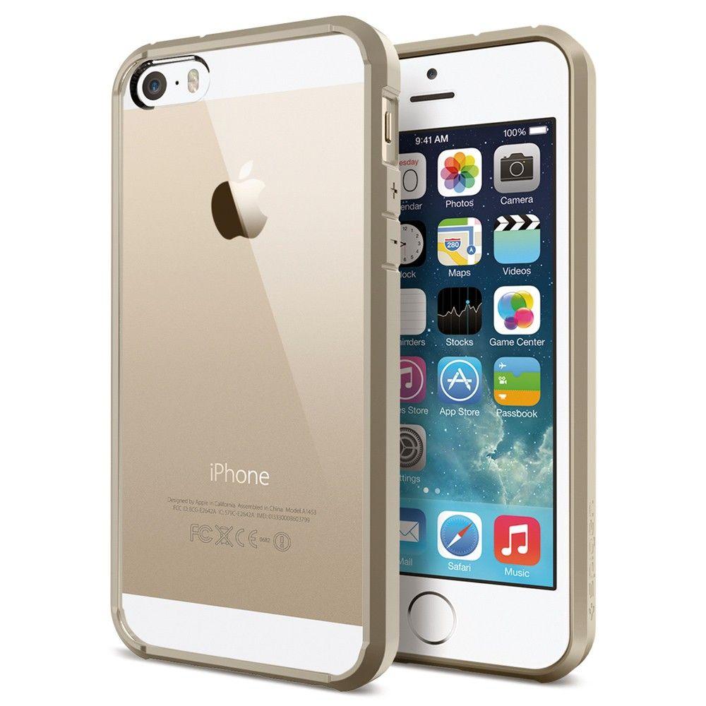 SGP Spigen Slim Ultra Hybrid для iphone 5/5s(золотой)