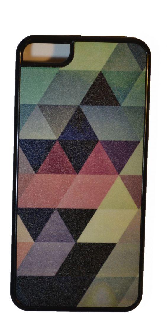 МАТОВЫЙ ЧЕХОЛ НА IPHONE 5/5S (треугольник)